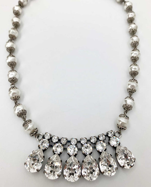 Julie Pearl Lux Necklace By Rachel Marie Designs