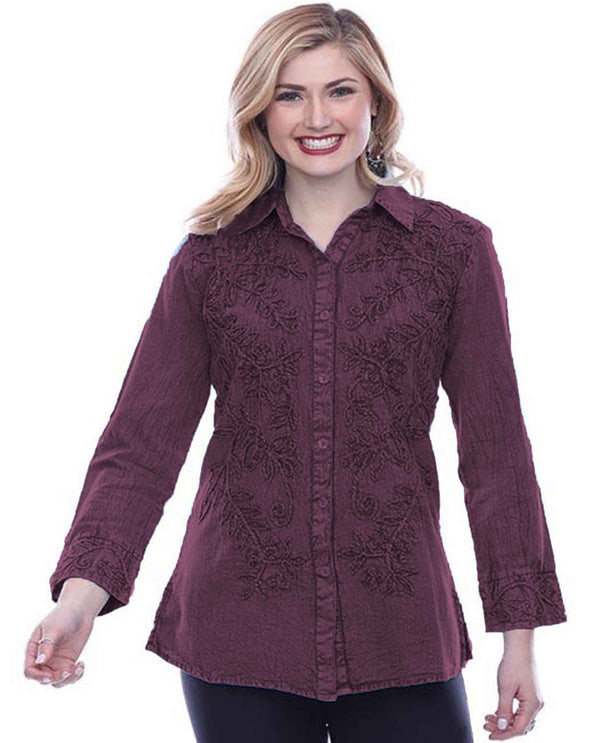 19F568G Libby Embroidered Shirt