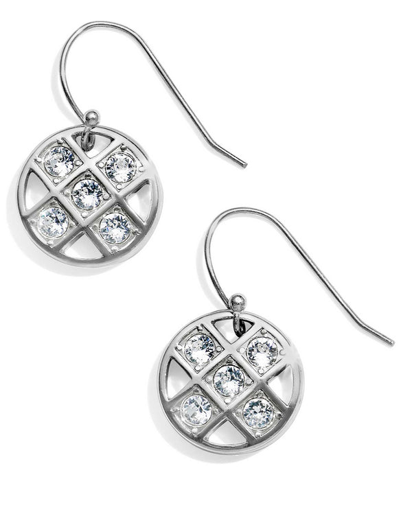Brighton JA5561 Bonjour French Wire Earring round Swarovski crystal earrings