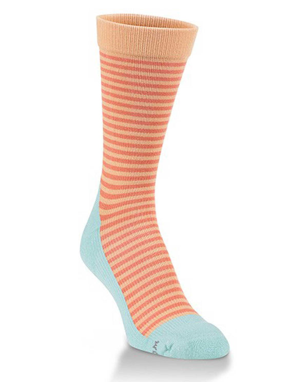 World's Softest Socks W3261-801 Carnival Stripe Support Sock