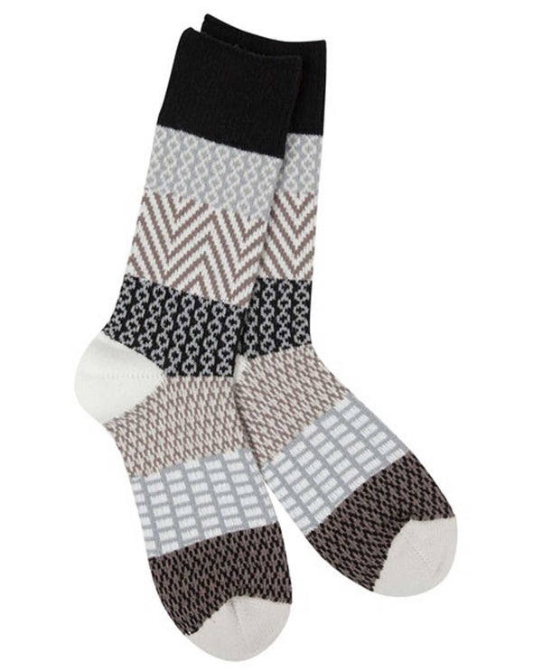 World's Softest Socks WS66614277 Nightfall Gallery Crew socks
