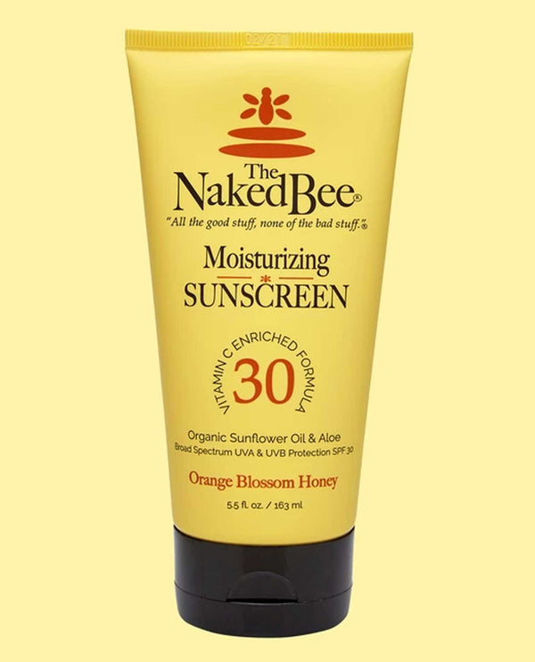 The Naked Bee Sunscreen Spf 30  5.5 Oz