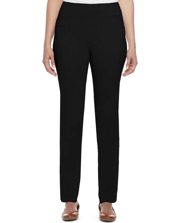 Ruby Rd 14790 Solar Millennium Pull On Pants black pull on pants