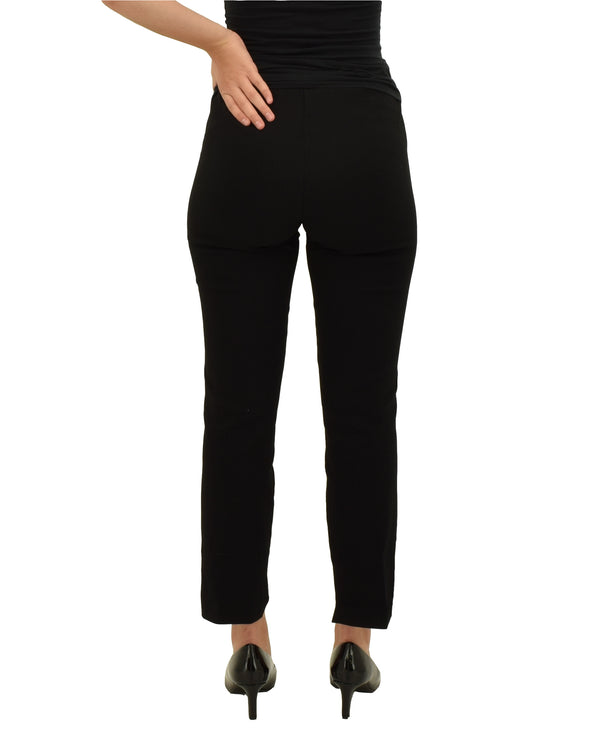 Lynn Ritchie LR10771 Split Capri Black