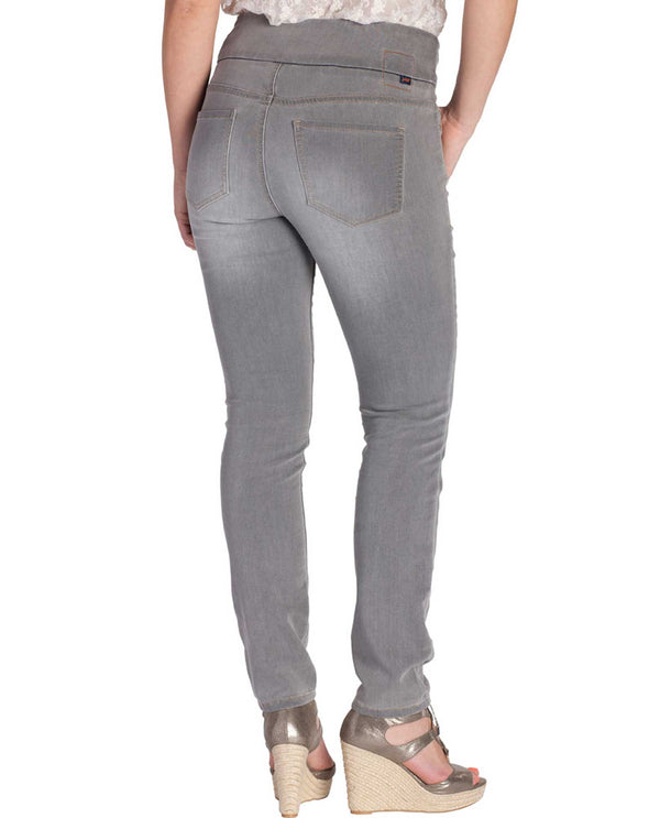 Jag Jeans J2112361ANTI Nora Skinny grey skinny jeans with pull-on waistband