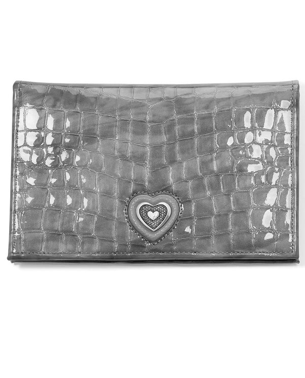 Brighton T3497D Bellissimo Heart Folio Wallet Dove
