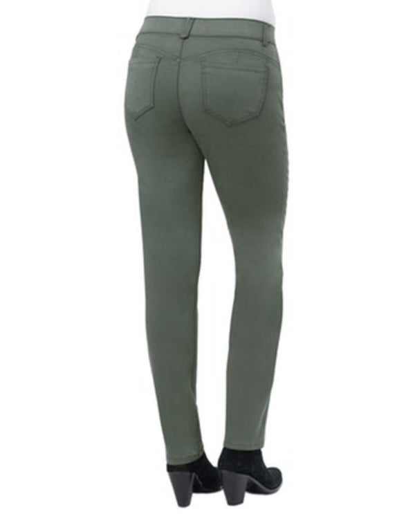 Democracy B1560PEX2 Ab Solution Twill Straight Legging back view