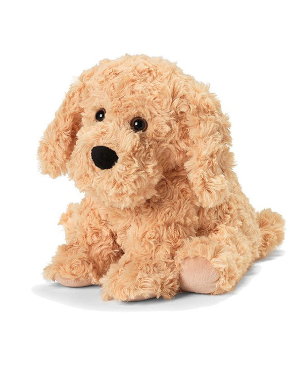 Warmies CP-DOG Golden Dog plush microwavable golden retriever dog scented with french lavender