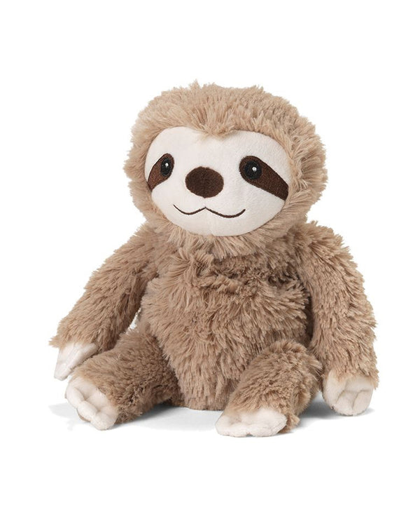 Warmies CPJ-SLO-1 Sloth Jr plush microwavable sloth scented with french lavender