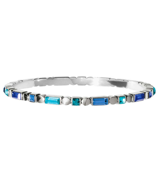 Brighton JF6873 Blue Showers Bangle Bracelet blue Swarovski bracelet