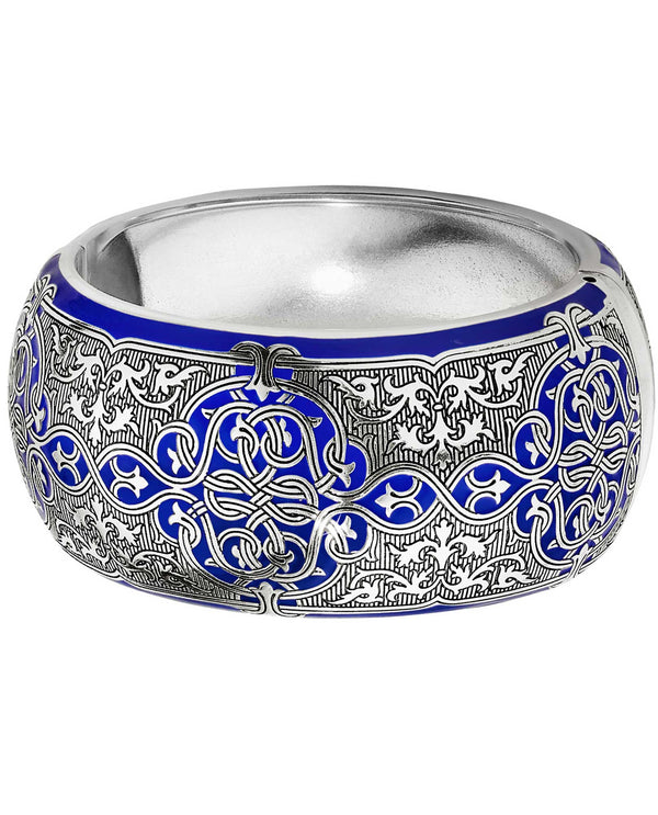 Brighton JF6913 Royal Brocade Hinge Bangle Bracelet