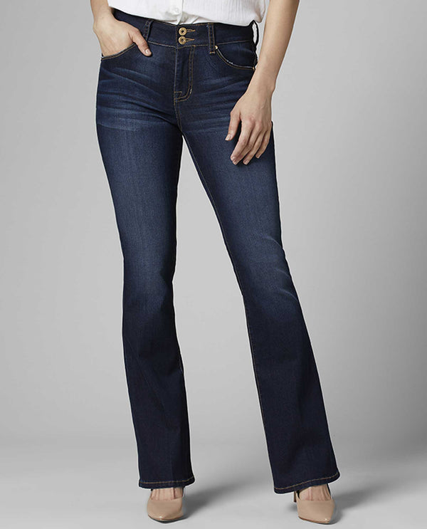 JAG J2710581BALB Gloria Flare Jeans with tummy control panel and booty lifting