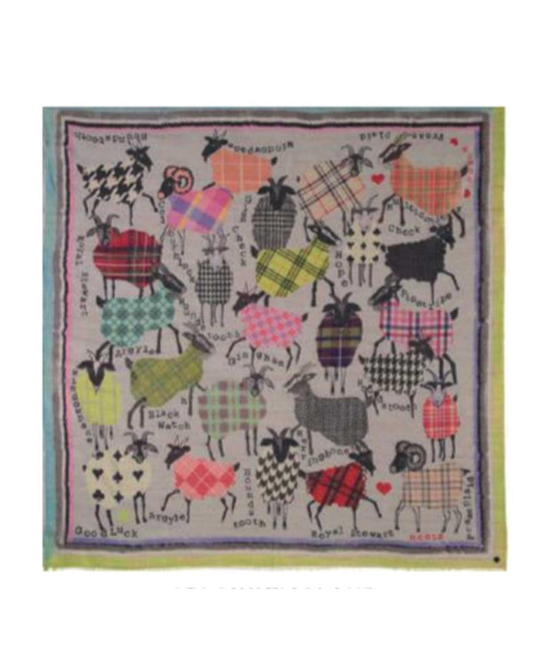 V. Fraas 638348 Fashion Goat Scarf