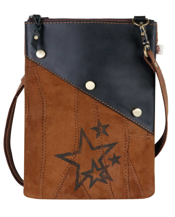Vaan and Co VB36 Celeb Star Crossbody Bag genuine leather crossbody bag