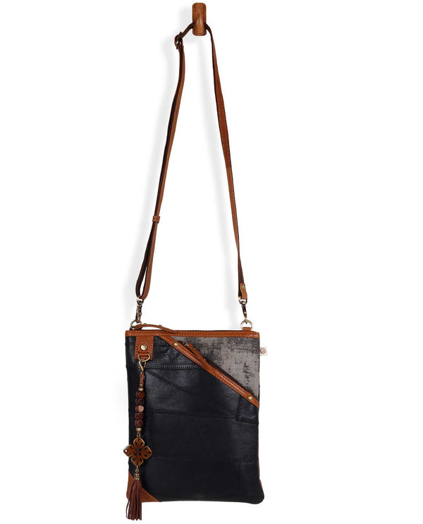 Vaan and Co VB19B723 Grayson Long Crossbody Bag