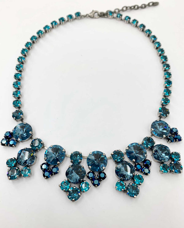Vanessa Lux Necklace Denim