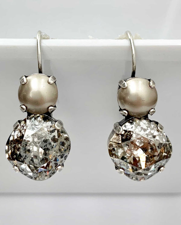 Laura Earring Platinum By Rachel Marie Designs