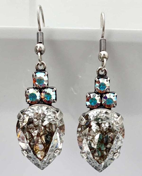 Pauline Ab Earring By Rachel Marie Designs Silver patina
