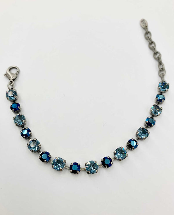 Kendra Bracelet Metallic Blue By Rachel Marie Designs