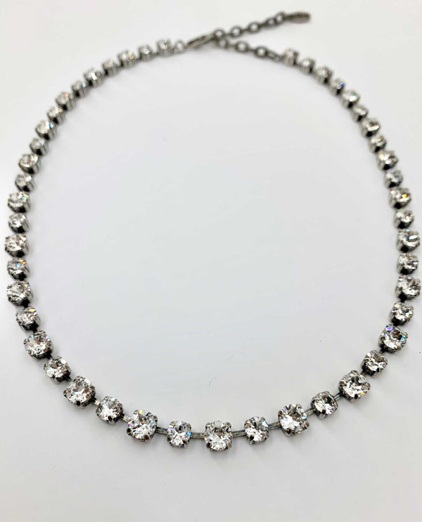 Kendra Necklace Clear By Rachel Marie Designs