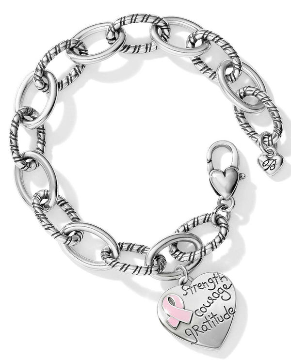 Brighton D30206 Power Of Pink 2019 Bracelet silver breast cancer bracelet