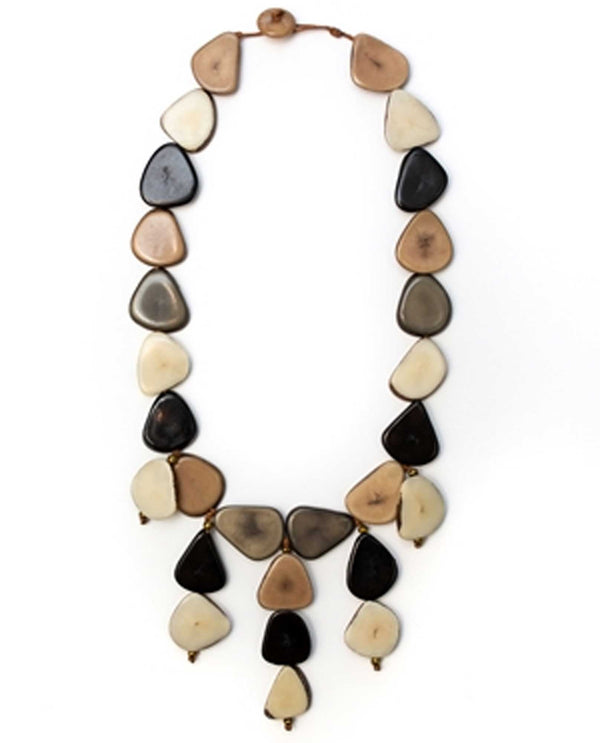 Organic Tagua SC144-ONC Nicole Necklace Combo