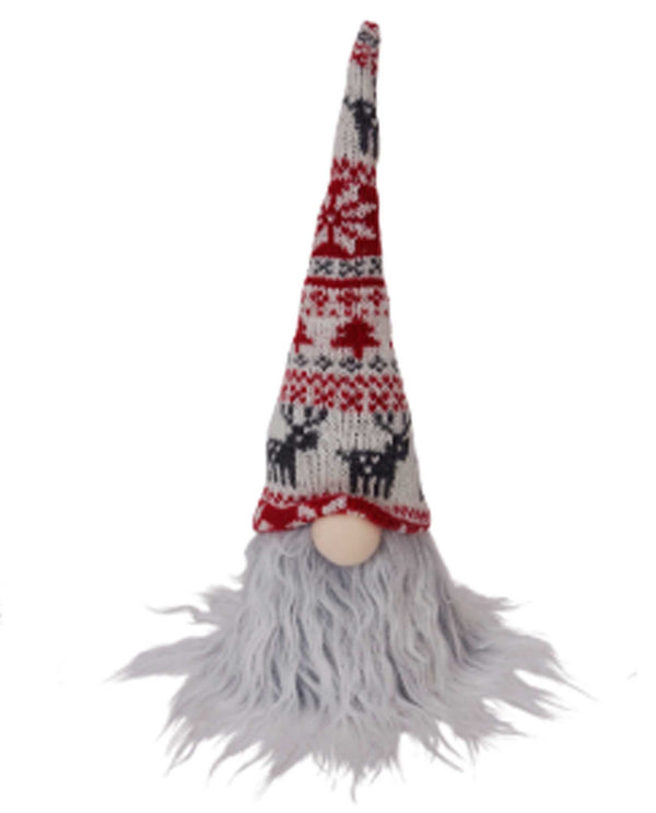 69192 Plush Gnome with knit hat