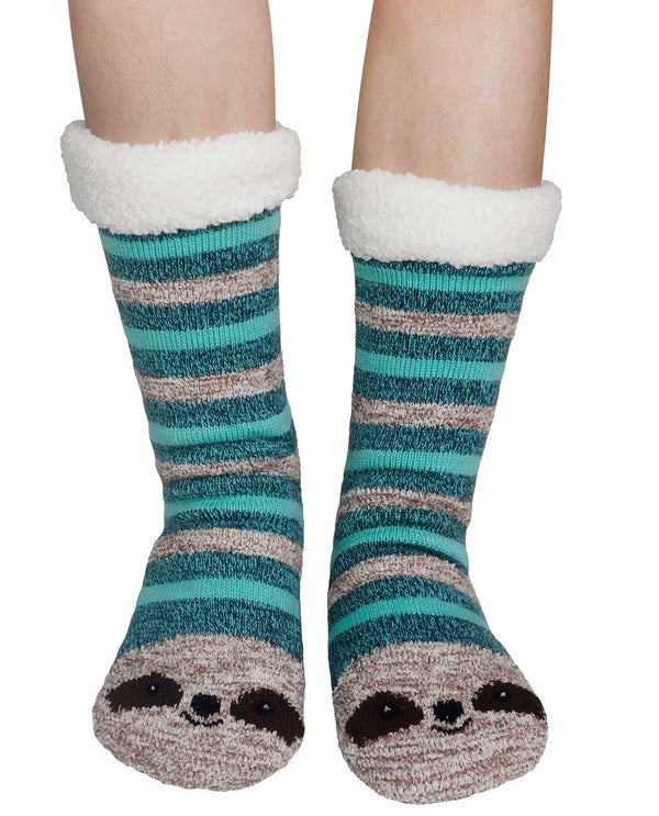 69274 Sloth Slipper Sox