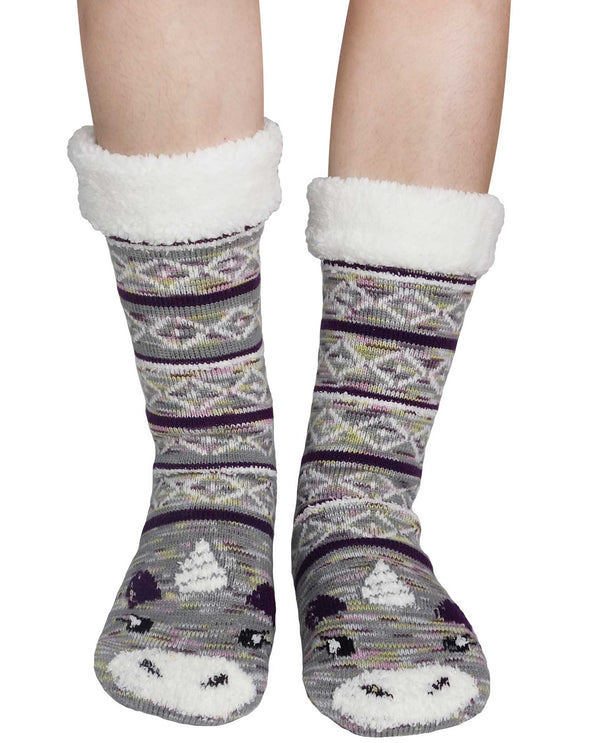 69274 Thermal Unicorn Slipper Sox