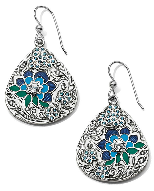 Brighton JA6173 Journey To India Teardrop French Wire Earrings