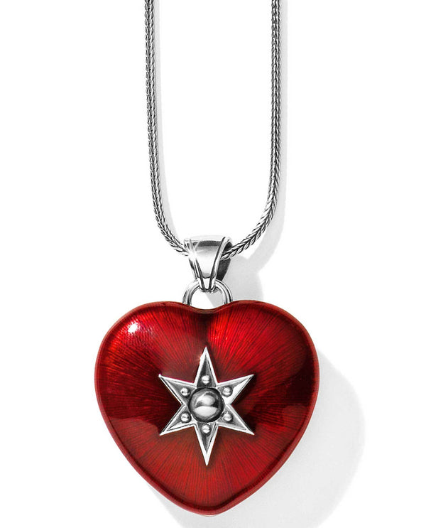 Brighton JM1743 Loving Heart Convertible Locket Necklace