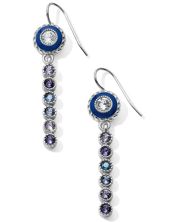 Brighton JA5763 Halo Eclipse Long French Wire Earrings