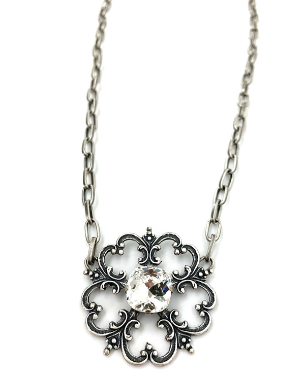 Rachel Marie Designs Leia Necklace Clear