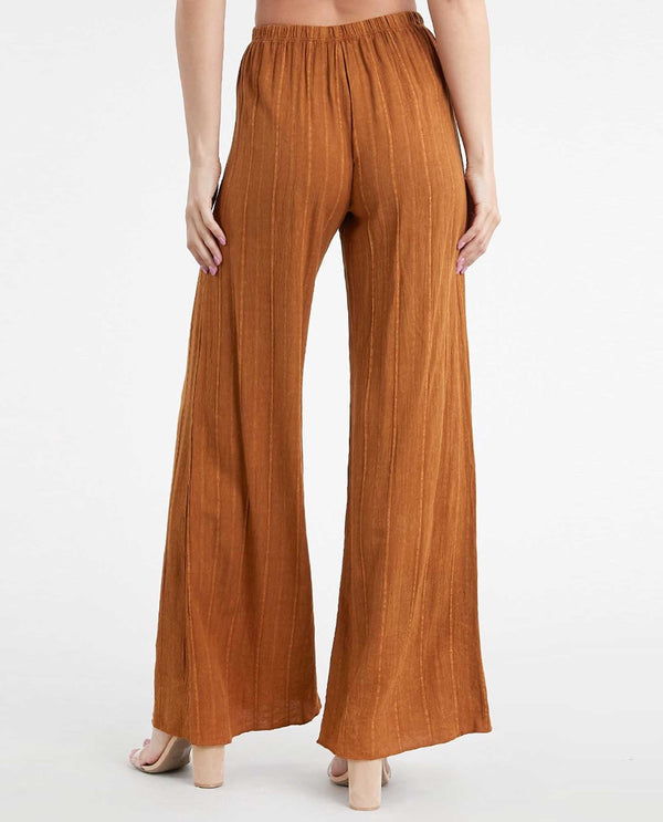 T Party RLJ75266 Wide Leg Pant Camel