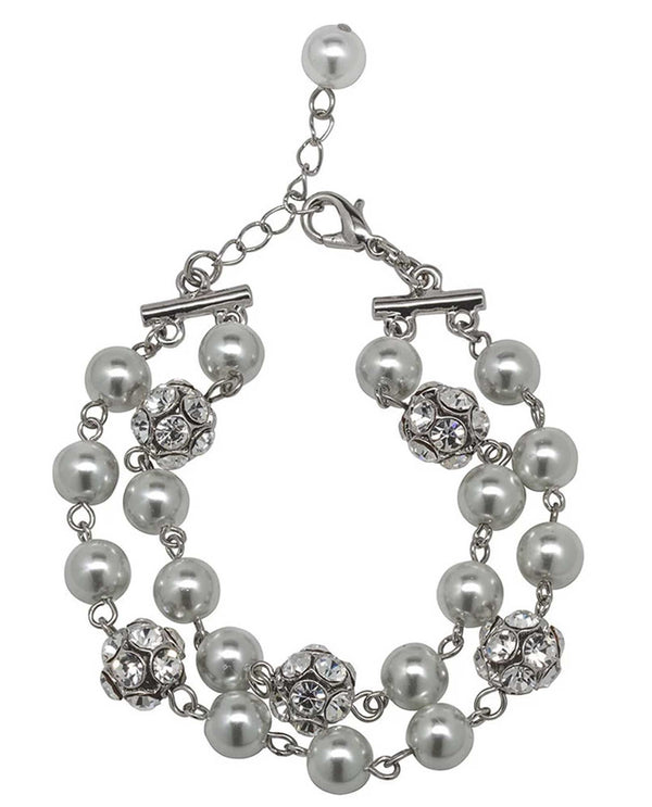 David Tutera 12875 Grey Gina Bracelet