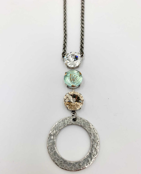 Cici Circle Necklace By Rachel Marie Designs
