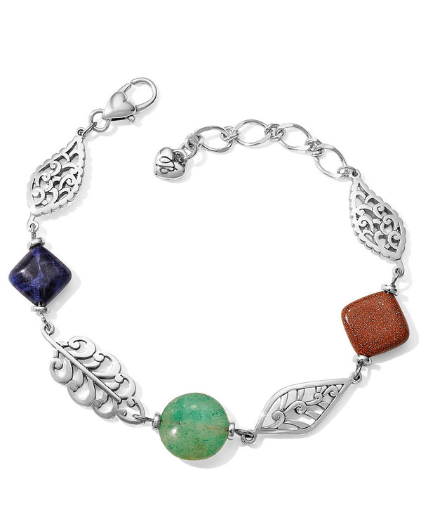 Brighton JF7063 Barbados Leaves Stone Bracelet