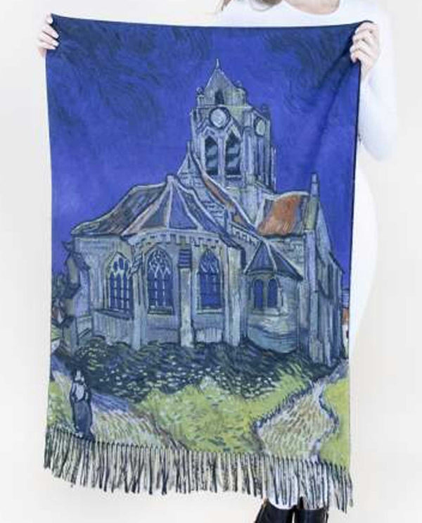 FS40507 The Church At Auvers Scarf
