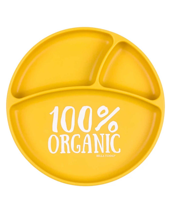 Bella Tunno WP17 Organic Wonder Plate Yellow