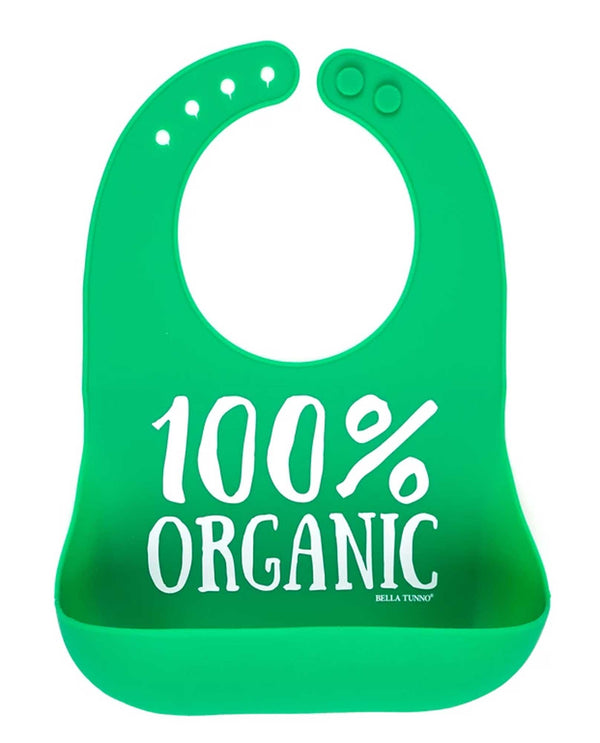 Bella Tunno WB130 Green Organic Wonder Bib