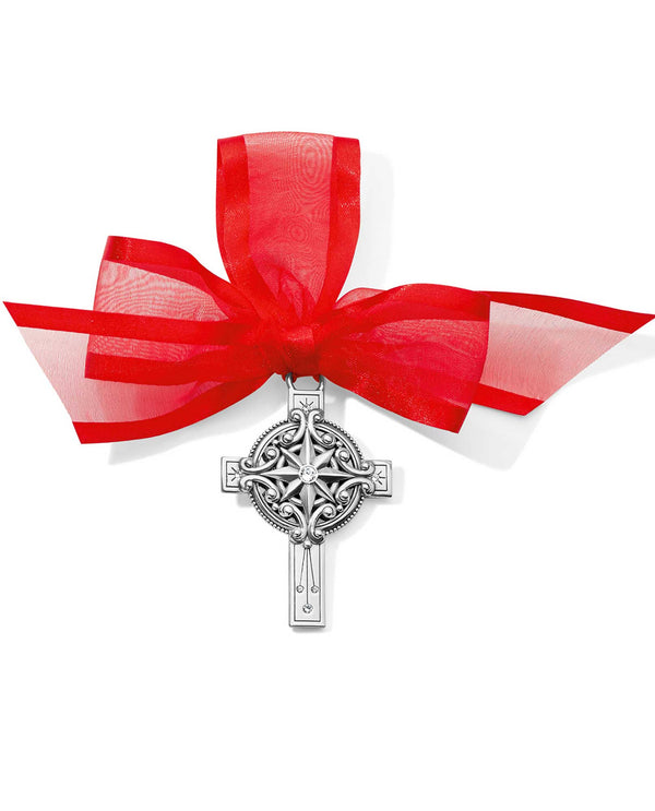 Brighton G70820 Christmas Star Cross Ornament