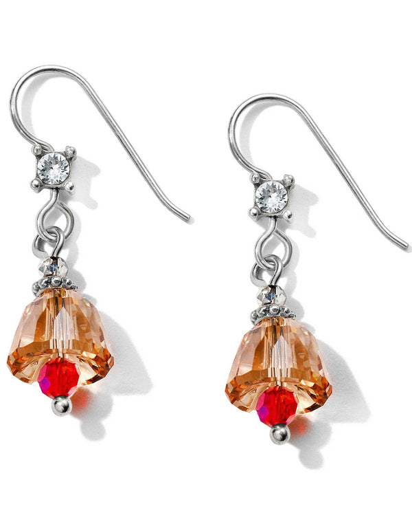 Brighton JA6013 Christmas Belle French Wire Earrings
