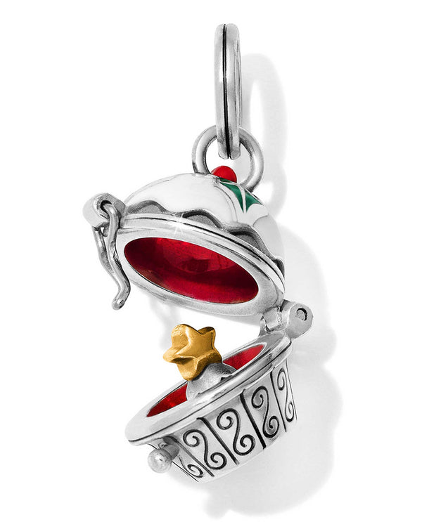 Brighton JC5283 Holiday Cupcake Charm