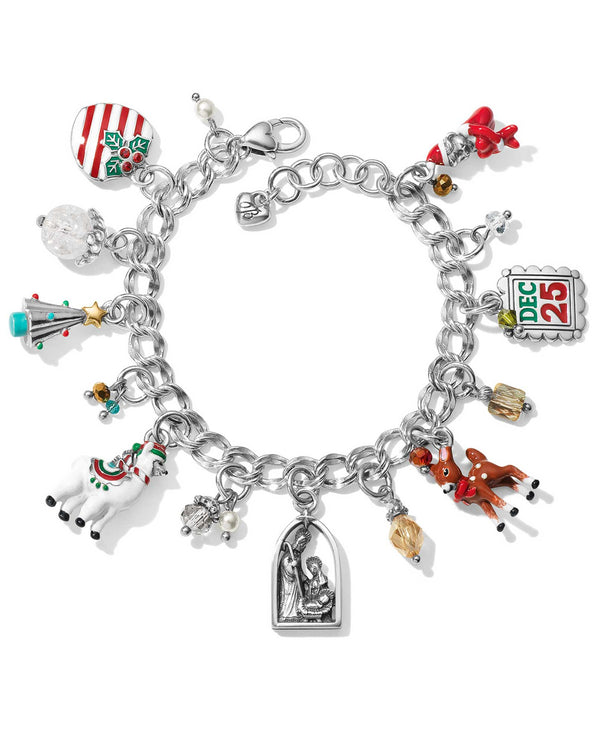 Brighton JF7013 Christmas Traditions Charm Bracelet