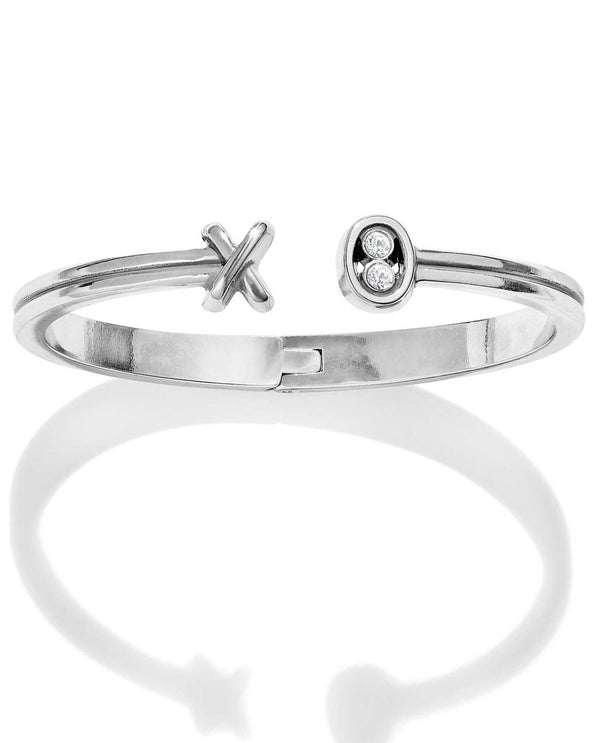 Brighton JF6941 Hugs & Kisses Open Hinged Bangle