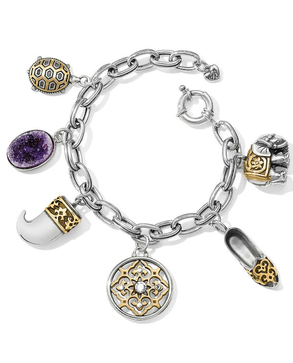 Brighton JF7163 Indian Souvenir Charm Bracelet