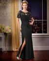 Black Jade Couture K178056 Lace Jacket Dress long mother of the bride dress