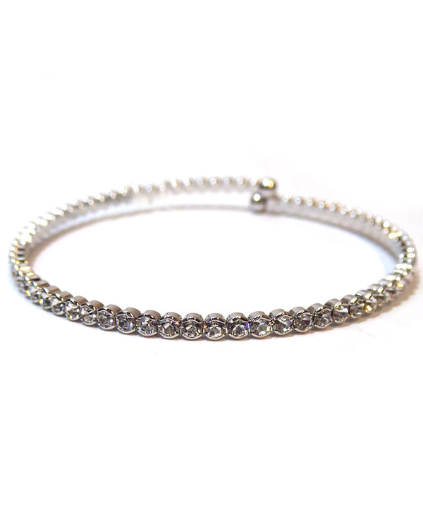 Prongless Small Crystal Bracelet