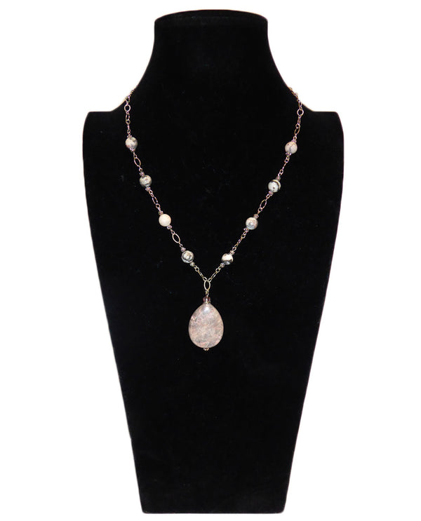 Sarah Gemstone Necklace