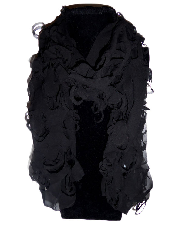 Cut Out Scarf